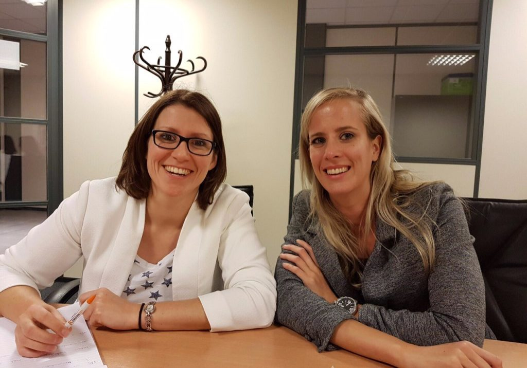 Foto Hanneke en Céline